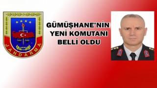 Gümüşhane İl Jandarma komutanı değişti