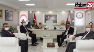 Gümüşhane Üniversitesi Rektöründen Emniyet Müdürüne Ziyaret