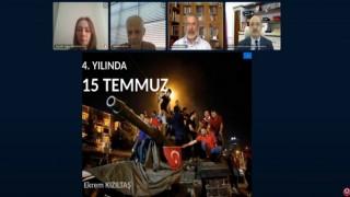 Gümüşhane Üniversitesinde 15 Temmuz Etkinliği Online Gerçekleşti