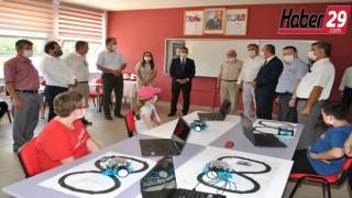 Robotik kodlama sınıfına şehit öğretmen Necmettin YILMAZ'ın adı verildi