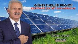 Kelkit Belediyesi güneş enerjisinden 1 megavatlık enerji üretecek