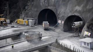 Yeni Zigana Tüneli'nin havalandırma sistemi Avrupa'da ilk olacak