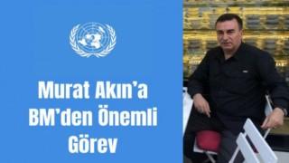 Murat Akın'a BM'den önemli görev
