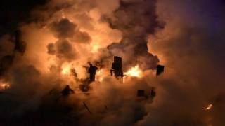 Hacıemin'de korkutan yangın