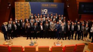 Başkan Akçay OSBÜK toplantısına katıldı