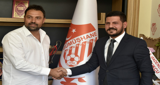 Gümüşhanespor, Fatih Akyel'le sözleşme imzaladı