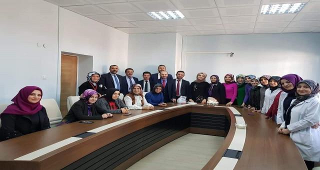Gümüşhane Devlet Hastanesinde 8 Mart Kadınlar Günü Kutlandı