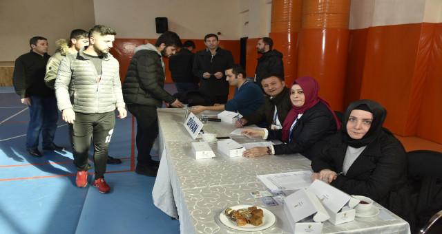 AK Parti'de temayül yoklaması yapıldı