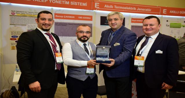 Çalışmasıyla TET Proje Pazarı ODTÜ Teknokent Özel Ödülünü Aldı