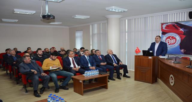 GTSO'da Yapılan Toplantıda SGK ve İŞKUR Destekleri Anlatıldı