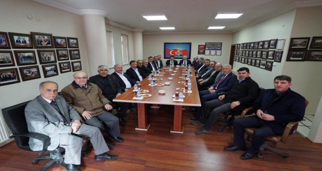MHP'den Gümüşhane Ticaret ve Sanayi Odasına Ziyaret