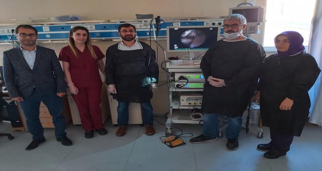 Gümüşhane Devlet Hastanesi'nde Bronkoskopi Ünitesi hizmete girdi
